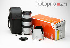 Sony 70-400 mm 4.0-5.6 G SSM (SAL70400G) + OVP + TOP (215015)