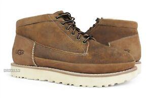 UGG Campfire Trail Chestnut Bomber Fur Boots Mens Size 9.5 *NIB*