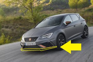 Genuine Seat Leon 17>> Cupra R Front Bumper Spoiler Lip Carbon 5F0071606J