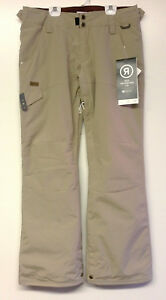 RIDE Women's ROXHILL Snow Pants - Khaki - Size Medium - NWT