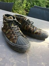 paul smith McGee Khaki Cow Hair Leather women trainers size 38 RRP 250