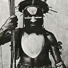 1970/84 IRVING PENN Tambul Warrior New Guinea Man Body Painting Photo Art 12x16