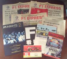 Formula 1 F1 Grand Prix first China Shanghai 上海 2004 ticket articles brochures