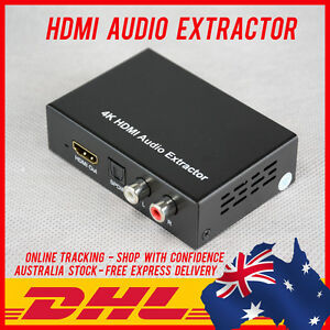 HDMI AUDIO EXTRACTOR - HD 4K - 3D - SPDIF & ANALOG OUTPUT - HDMI LOOP