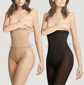 Fiore High Waist Bikini Quality Slimming Hourglass Shaping Tights 20 40 Denier
