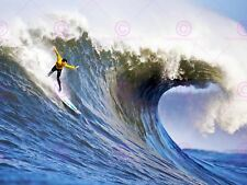Photography Waves Surfing Surf Sport Sea Water Canvas Art Print
