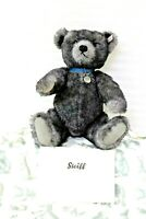Steiff Trademark Bear Alexander Reproduction 593/1950 Growler 681325 Gray/Blue