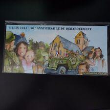 FRANCE BLOC SOUVENIR N°93 DÉBARQUEMENT SOUS BLISTER NEUF ** LUXE MNH