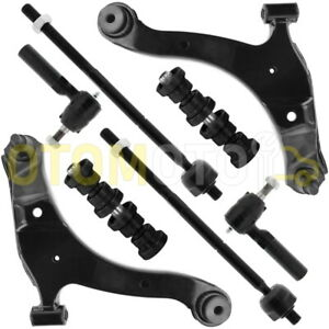 CHRYSLER PT CRUISER KIT TRIANGLE BRAS DE SUSPENSION ROTULE BIELLETTE AVANT 8 PCS