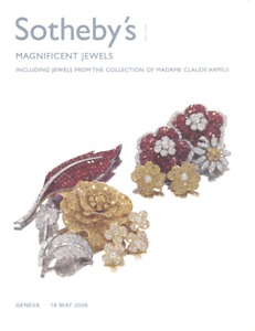 Sotheby's Catalogue Magnificent Jewels incl. Jewels coll. Madame Claude Arpels.