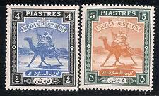 Sudan Scott     88  -  89  Mint Never Hinged