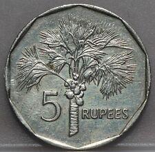Seychelles - five 5 Rupees 1982 - KM# 51.1 - nice!