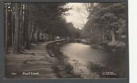 Postcard Fleet Canal nr Basingstoke Hampshire early RP by J C Chorley