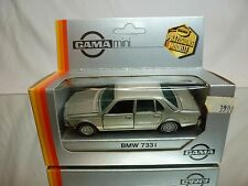 GAMA 1115 BMW 733i E23 - SILVER 1:43 - GOOD CONDITION IN BOX