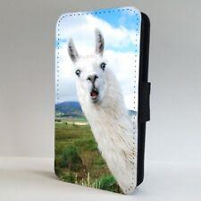 Alpaca Teléfono Abatible Animal Cara Divertida Funda Para IPHONE SAMSUNG