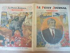 PETIT JOURNAL- 1929 - N° 1999 - MYRON T. HERRICK / Cologne Elephant dans tabac
