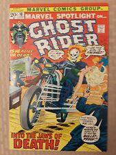 GHOST RIDER... MARVEL SPOTLIGHT #10 HIGHER GRADE!! VERY NICE BOOK!