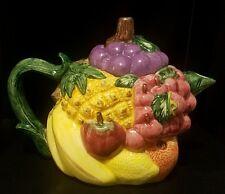 Mint Condition Ceramic Dolomite Fruit Teapot