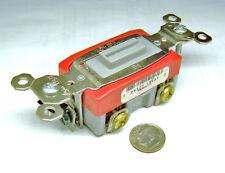 PASS & SEYMOUR PS20AC1-L NOS GREY LOCKING SWITCH 20 A 1 P 120/277 VAC NO KEY