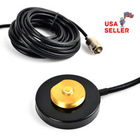 NMO Mount Magnetic Base For Car Taxi Mobile Radio UHF/VHF Antenna RG-58 Cable