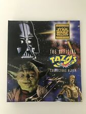 Star Wars Trilogy Album With Tazos