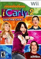 iCarly 2 iJoin the Click SEALED COMPLETE Nintendo Wii & WII U I CARLY I JOIN