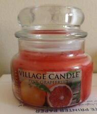 Village Candle - Pink Grapefruit -  Small Jar 11 fl oz Burns up to 55 hrs