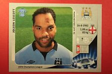 PANINI CHAMPIONS LEAGUE 2012/13 N. 250 LESCOTT M. CITY BLACK BACK MINT!