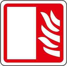 Adesivo segnaletica Porta Tagliafuoco 120x120 mm