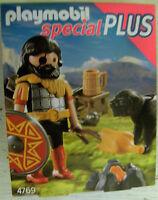 Playmobil Special Plus Bárbaro con perro AM Hoguera 4769 caballero castillo de