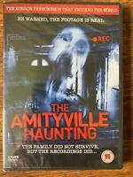 The Amityville Haunting DVD 2011 Terror Película O Haunted Cintas Nuevo en Caja