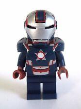 Lego Custom IRON PATRIOT Minifigure with Custom Armor & Helmet