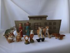 Small Noah's Ark, Noah, His Wife and the Animals two by two