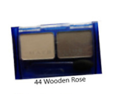 MAYBELLINE EXPERTWEAR DUO EYESHADOW SHADE 44 WOODEN ROSE NEW