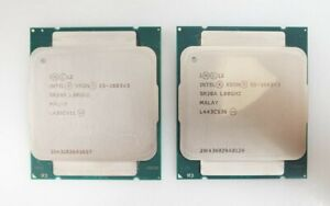 LOT 2x Intel Xeon Processor E5-2603 v3 6-Core LGA2011-3 15MB 85W Processor SR20A