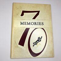 Vintage Ludlow, Kentucky Ludlow High School Panthers Yearbook 'Memories' 1970
