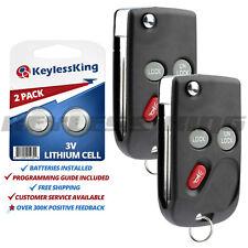 2x Keyless Entry Remote Car Flip Key Fob for Cadillac Chevrolet GMC 15732803