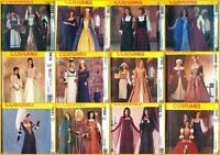 OOP McCalls Sewing Pattern Renaissance Costume Medieval Elizabethan + You Pick