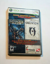 Bioshock / Elder Scrolls IV: Oblivion Combo Pack (Xbox 360) Very Good Condition