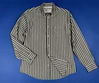 Murphy nye camicia uomo usato XL cotone a righe shirts man used vintage T6091