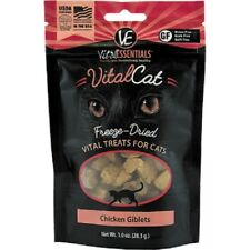 Vital Essentials FREEZE DRIED CHICKEN GIBLET Cat Treats 1 oz