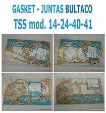 BULTACO TSS GASKET - JUNTAS TSS -  MODELS 14 - 24 - 40 -41 - ORIGINAL PARTS