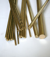 Brass Round Bar / Rod Model making Various Sizes 2 mm - 30 mm