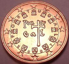 Gem Brillaint Unc Portugal 2007 2 Euro Cents~Fantastic Coin~Free Shipping