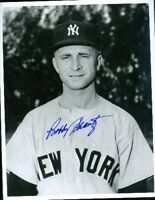 Bobby Shantz Yankees Autograph 8x10 Signed Photo Jsa