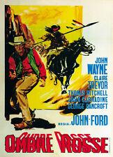 Stagecoach (1939) John Wayne Claire Trevor movie poster print