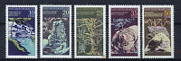 ALEMANIA/RDA EAST GERMANY 1977 MNH SC.1796/1800 Natural monuments