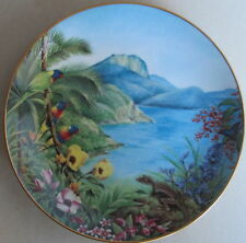 """Deidre Hunt~listed-artist~""""The Whitsunday Passage""""~collectable plate~1985~"""