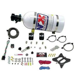 Nitrous Express 4.6L 2 VALVE PLATE SYSTEM WITH 10LB BOTTLE 20946-10