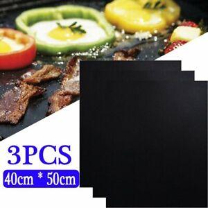 3X Non-Stick Oven Liner Teflon Baking Large Aide Dishwasher Reusable Spill Mat